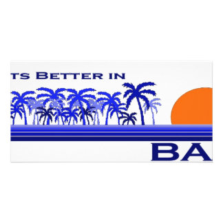 Its Better in Bali, Indonesia Picture Card