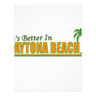 Its Better in Daytona Beach Customized Letterhead
