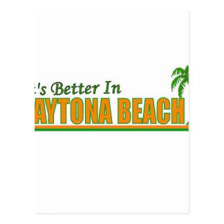 Its Better in Daytona Beach Postcard