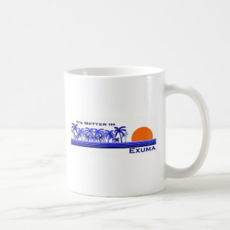 Its Better in Exuma, Bahamas Coffee Mug