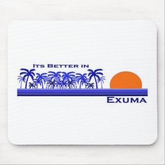Its Better in Exuma, Bahamas Mouse Pad