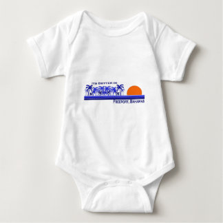 Its Better in Freeport, Bahamas Baby Bodysuit
