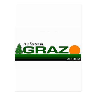 Its Better in Graz, Austria Postcard