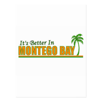 Its Better in Montego Bay Postcard