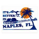 it's better in NAPLES, FL. Postcard
