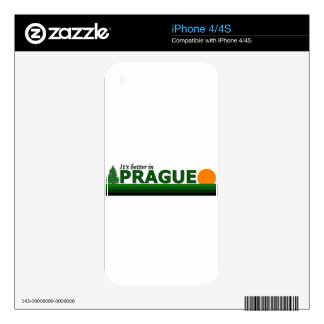 Its Better in Prague Skin For The iPhone 4S