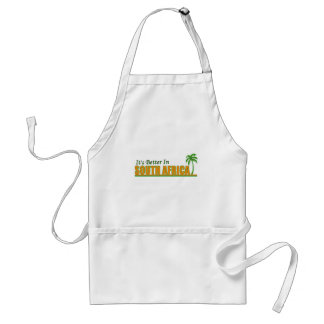 It's Better in South Africa Adult Apron