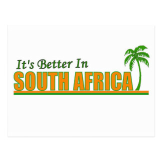 It's Better in South Africa Postcard