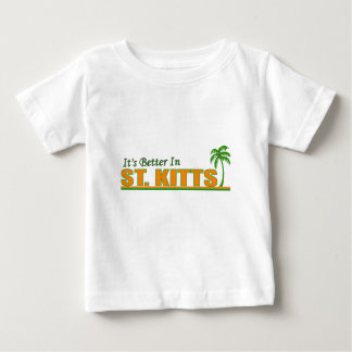 It's Better in St. Kitts Baby T-Shirt