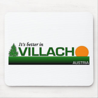 Its Better in Villach, Austria Mouse Pad