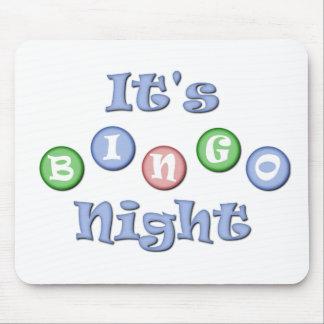It's Bingo Night Mouse Pad