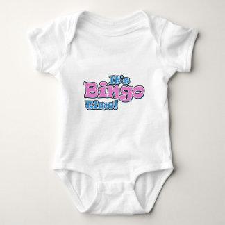 It's Bingo TIme Baby Bodysuit