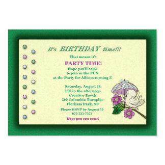 It's Birthday Time!! Invite for Child's Birthday