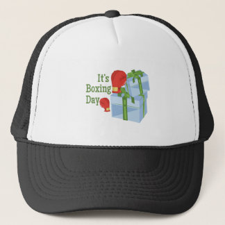 Its Boxing Day Trucker Hat