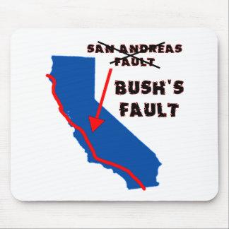 It's Bush's Fault Mouse Pad