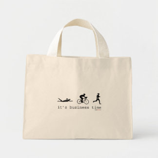 It's Business Time Canvas Bags