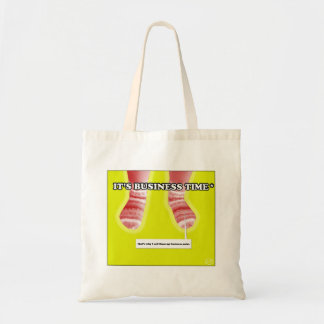 It's business time! budget tote bag