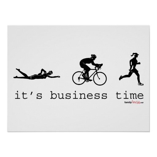 It's Business Time Poster