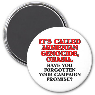 It's called Armenian genocide, large magnet
