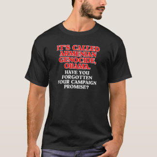 It's called Armenian genocide, shirt/apparel T-Shirt