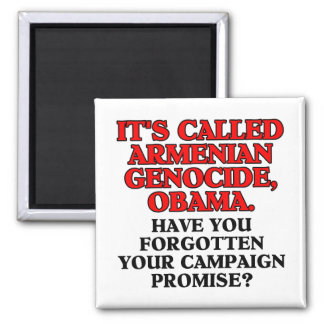 It's called Armenian genocide, square magnet
