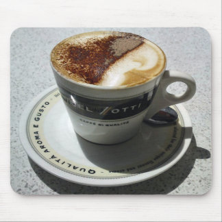 It's Cappuccino Time Mouse Pad