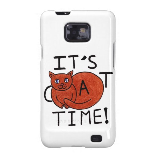 It's Cat Time Galaxy SII Covers