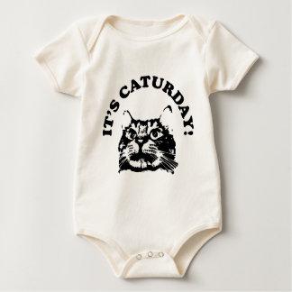 It's Caturday Baby Bodysuit