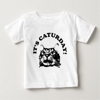 It's Caturday Baby T-Shirt