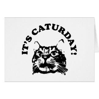 It's Caturday Card
