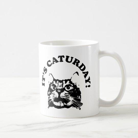 It's Caturday Coffee Mug