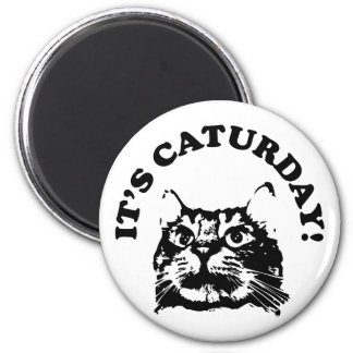 It's Caturday Magnet