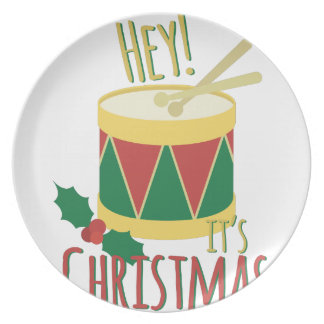 Its Christmas Dinner Plate