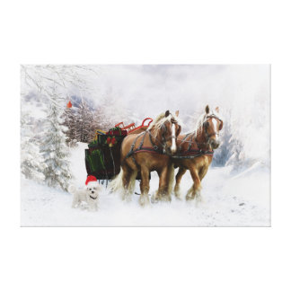 It's Christmas Gallery Wrapped Canvas