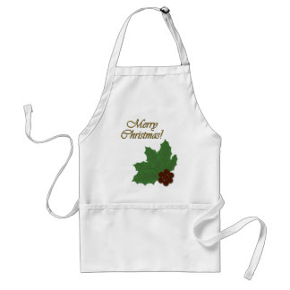 It's Christmas! Go for Baroque! Adult Apron