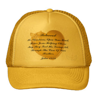 It's Christmas Open Your Heart-Customize Mesh Hat