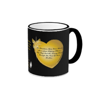 It's Christmas, Open Your Heart-Customize Mug