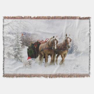 It's Christmas Throw Rug