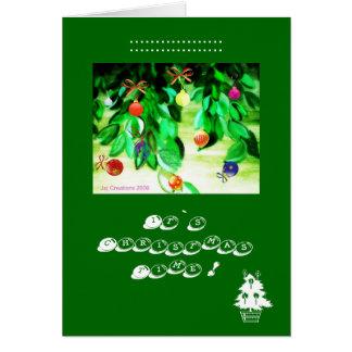 """Its Christmas Time"" Card"