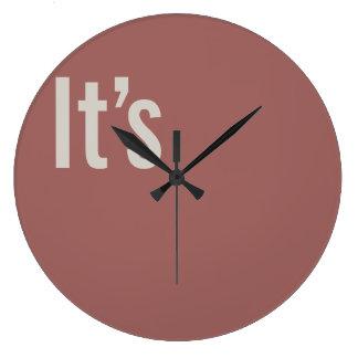 It's clock