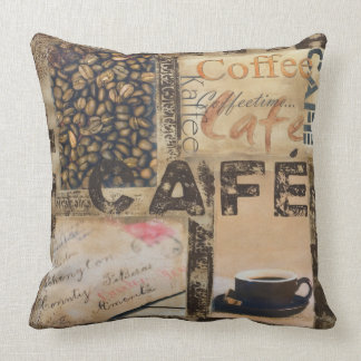It's Coffeetime Throw Pillow