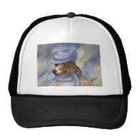 it's cold out mesh hat