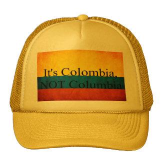 """It's Colombia, Not Columbia"" Trucker Hat"