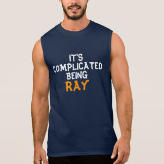 It's complicated being Ray Sleeveless Shirt