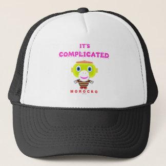 Its Complicated-Cute Monkey-Morocko Trucker Hat