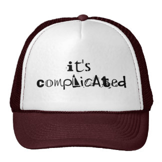 Its Complicated Trucker Hat