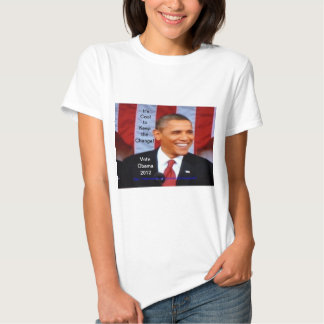 It's Cool to Keep the Change:18!  Vote Obama 2012 Shirt