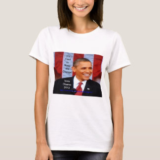 It's Cool to Keep the Change:18!  Vote Obama 2012 T-Shirt