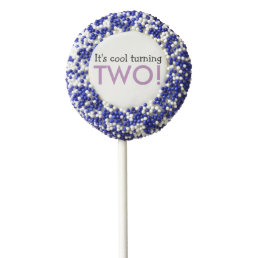 It's Cool Turning Two Birthday Party Oreo Pops
