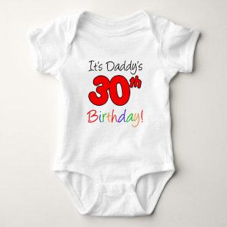 It's Daddy's 30th Birthday Baby Bodysuit